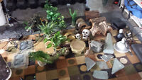 Reptile or Pet Terrarium Decoration Accessories
