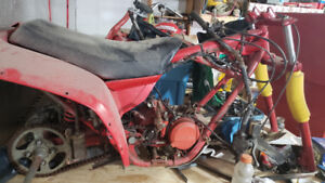 Honda trikes 250r 250es projects