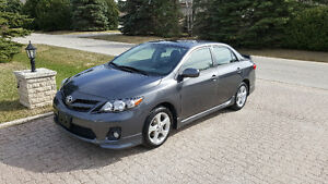 Toyota Corolla S 2011, NEW TIRES, LOW KMS, Prestine Condition!
