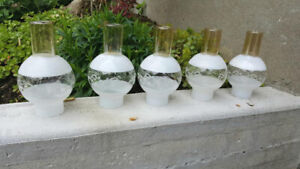 Antique Hurricane Lamp Shades (5) - $10 EACH or $35 for ALL