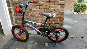 "BOYS 16"" SUPERCYCLE ILLUSION BIKE"