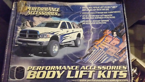 Performance Accessories body lift kit for 1982-1994 Chevy S-10