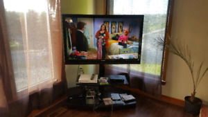 "47"" Sharp lcd tv w/stand (still available)"