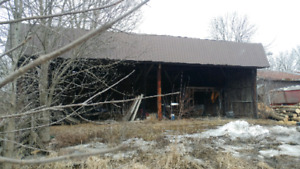 Barn for removal