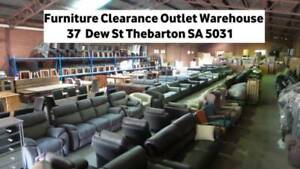 FURNITURE CLEARANCE WAREHOUSE OUTLET SOFAS TABLES BEDS LOUNGE