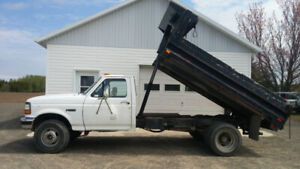 camion dom-peur ford F-450 super duty