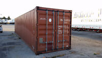 Shipping and Storage Containers For Sale - 20' and 40' Sizes