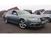 2010 10 AUDI A6 AVANT 2.0 TDI S-LINE.FULL SH.2 KEYS.FULL MOT.FINANCE AVAILABLE .