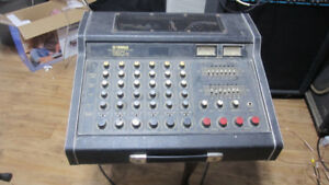 parts only yamaha power mixer em150 ii reverb tank+other parts