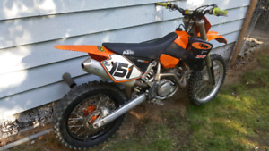 Ktm 450 sx will trade for 2stroke plus cash