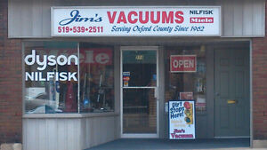 JIM'S VACUUMS 50% off ALL RECONDITIONED VACUUMS