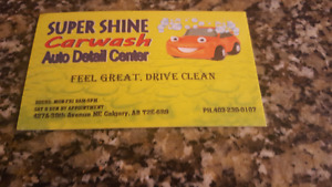 SUPER SHINE CAR WASH & AUTO DETAILING CENTER 427A 38TH AVE NE
