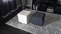 Cube Ottomens for sale