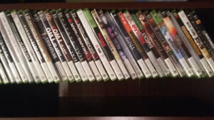 Xbox 360/2controller/36games/turtle beach headset