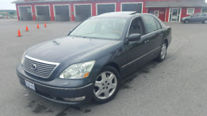 2006 Lexus Ls430 Sedan only 110km LOADED SAFETIED AND E-TESTED