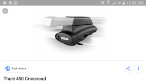 Thule 450 Crossroad with 58 Inch Load Bars