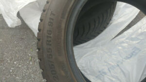 205/55R16 Winter Tires - KUMHO WinterCraft Ice - $500