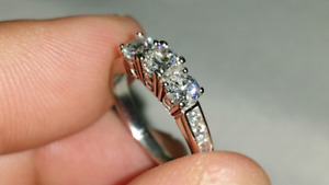 New engagement ring.