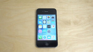 Mint Condition iPhone 4s, 16GB, not locked, with Cable.