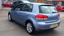 2012 Volkswagen Golf 1.6 TDi 105 Match DSG Automatic Diesel Hatchback