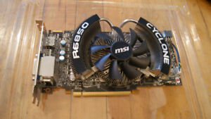 SELLING RADEON R6850 CYCLONE 1GB POWER EDITION