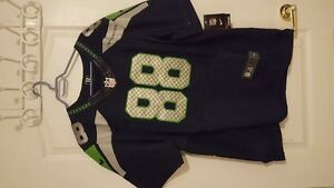 SEATTLE SEAHAWKS NIKE OFFICIAL GRAHAM FOOTBALL JERSEY