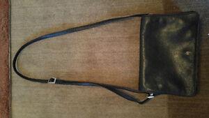 Derek Alexander black/brown leather purse