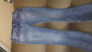 Brand name (silver jeans)