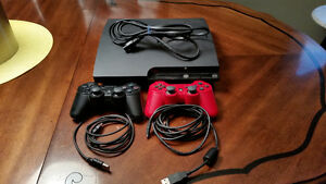 Used PS3 Good Condition- 2 Controllers- 15 Games Peterborough Peterborough Area image 1