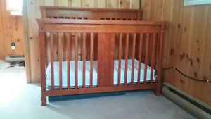 crib, pack and play,