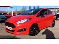 2017 Ford Fiesta 1.0 EcoBoost 140 ST-Line Red ( Manual Petrol Hatchback