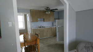 Furnished upstairs one bedroom appartment