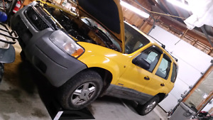 Parting out 02 ford escape
