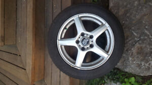 Great Condition Winter tires on Alloys 16""
