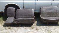 front and second row seats from 1950's suburban