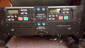 Denon DN-2000F dual cd player *Price change! West Island Greater Montréal image 1