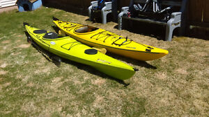 2 - 15 ft kayaks for sale