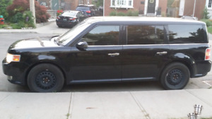 $7500 obo - BLACK 2009 FORD FLEX  Automatic Leather 5 sunroofs