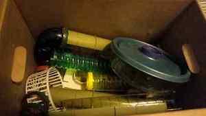 Hamster tubes etc.