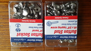 2 PACKS OF BUTTON STUD AND BUTTON SOCKET London Ontario image 1