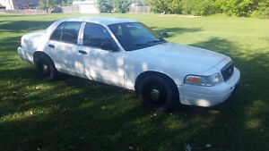 2011 Ford Crown Victoria Police Interceptor Sedan - Low Mileage