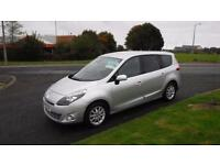 Renault Grand Scenic 1.9dci (60 plate) Privilege Tom Tom,7 Seater,Half Leather,