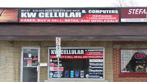 KW Cellular, Cell Phone , Ipod , Tablet Repar And Unlocking. Stratford Kitchener Area image 1