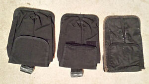 scuba diving integrated weight pouches