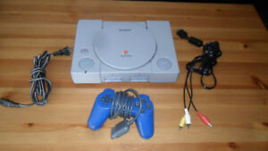PS1 with MOD CHIP PlayStation + 28 GAMES -- modded