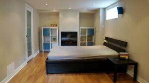 East York bachelor + room rental