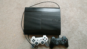 Sony PS3 Slim (Slightly used) 1TB