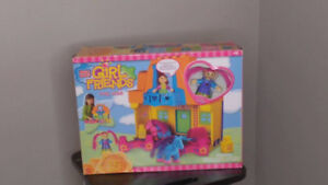 Mega Bloks Girl Friends Pony Stable - Model #336-Year 2002- Rare