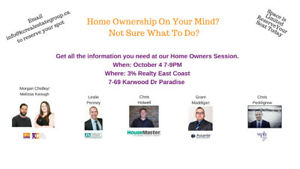 Home Owners Information Session