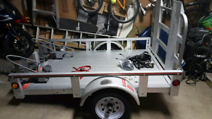 PRICE REDUCED!!! Brand New - 2017 Stirling 4x6 motorcycle hauler